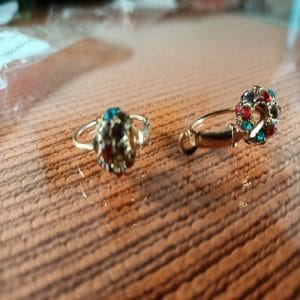 Rose Gold magnetni uhani photo review